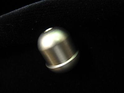 5 CLASSIC Matt Silver Cord Pull Small Satin Steel Roman Blind Light Acorn